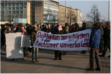 Attac und Occupy Leipzig