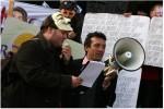 Occupy - Echte Demokratie Jetzt Leipzig - Bankenumzug 2011 - Raul Barriuso - Christoph Weber