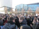 Demo Kürzer gehts nicht - Leipzig 2011 - Proteste gegen CDU / FDP Landes- und Bundesregierung