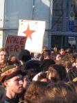 Demo Kürzer gehts nicht 2011 Leipzig Augustusplatz