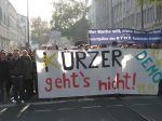 Demo gegen Kürzungen an den Hochschulen - HTWK Leipzig - 2011 - Kürzer gehts nicht