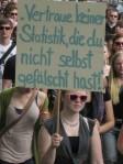 2012-05-10 Demonstration Dresden Bildung Falsche Statistik