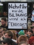 2012-05-10 Demonstration Dresden Bildung Terrorist