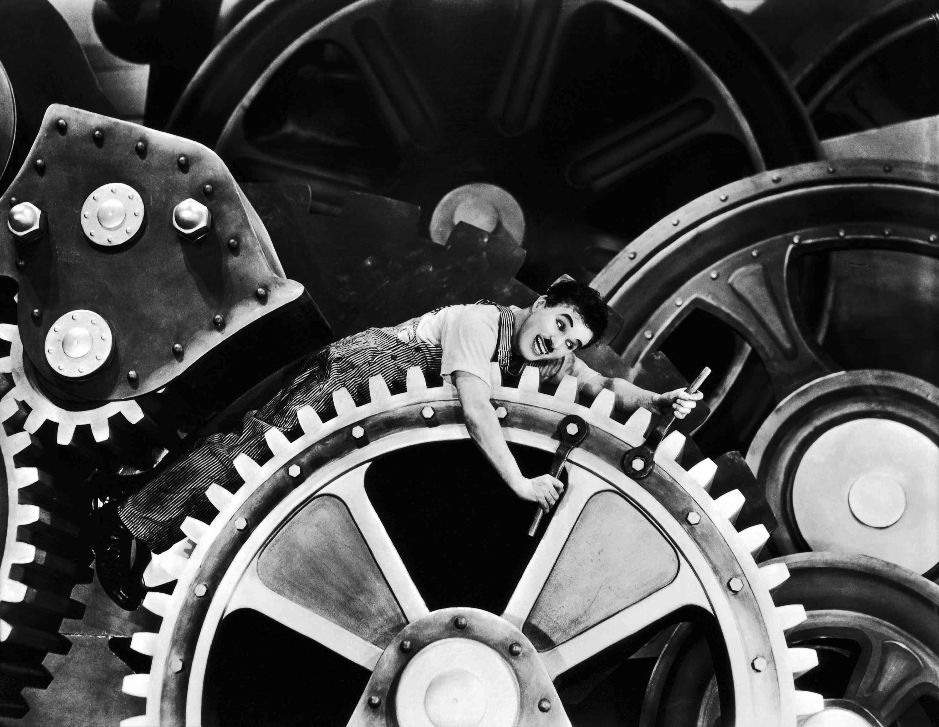 summary of modern times 1936 charlie chaplin essay Modern times by jeffrey vance charlie chaplin's tramp character finds he has become a cog in the in a modern, mechanized world film essay, modern times, national film registry, library of congress.