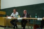 Podiumsdiskussion an der Universität Tübingen: Gregor Gysi und Mike Nagler