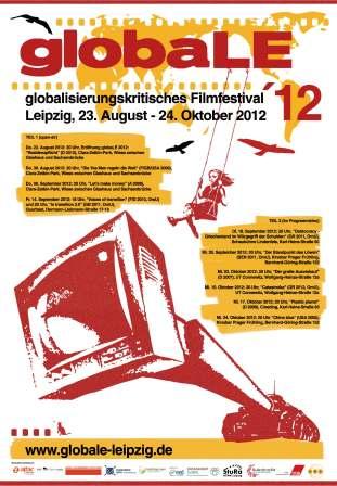 Die globaLE 2012 findet von Mitte August bis Ende Oktober 2012 in Leipzig statt.