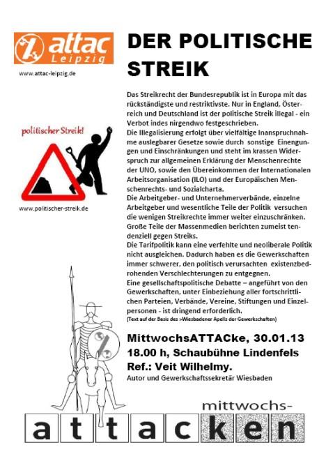 2013-01-30 der politische streik mittwochsattacke-veit-wilhelmy 2013 attac mike nagler