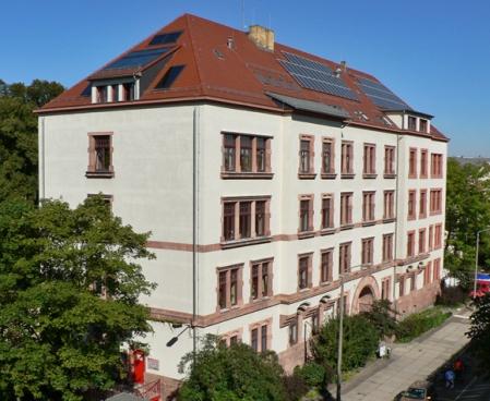 Leipzig Haus der Demokratie gesamtansicht