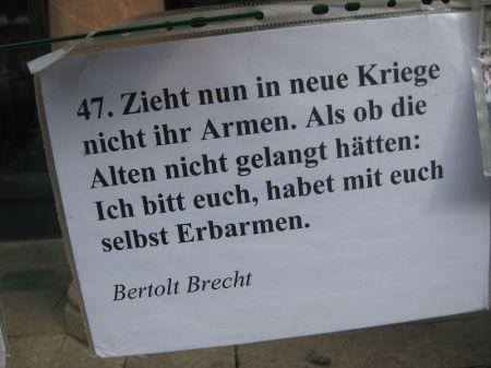 2013-03-30 Ostermarsch Leipzig (21) Bertolt Brecht