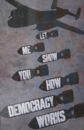 Demokratie Bomben