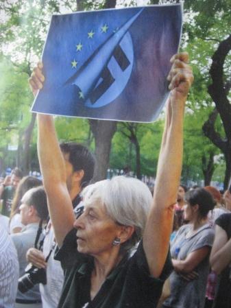 2012-06 Protest gegen Regime in Europa