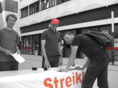 2013-07-24 Soli Amazon Streik Leipzig Buendnis (1) Mike Nagler