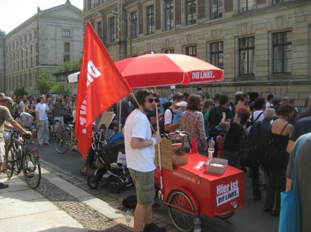 2013-07-27 Leipzig Stop watching us Demo (16) DIE LINKE