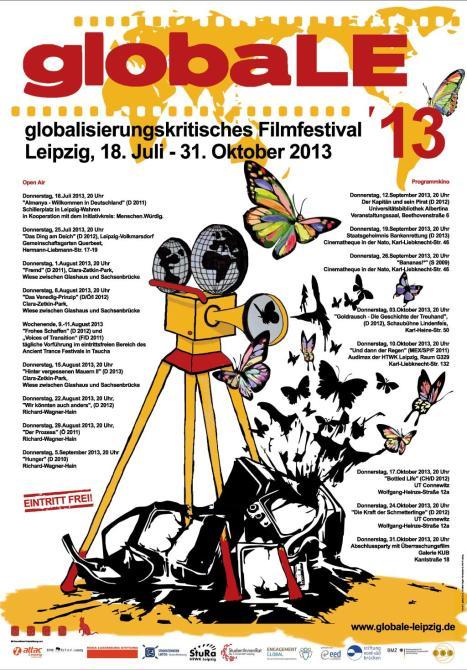 2013 Plakat globaLE Leipzig
