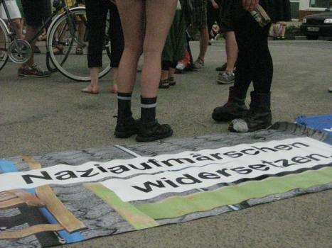 2013-08-17 Demo Antifa Leipzig nimmt Platz gegen NPD Kundgebung (12)