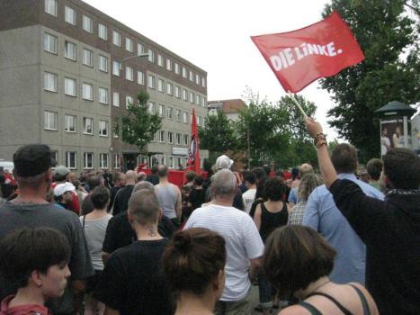 2013-08-17 Demo Antifa Leipzig nimmt Platz gegen NPD Kundgebung (3)