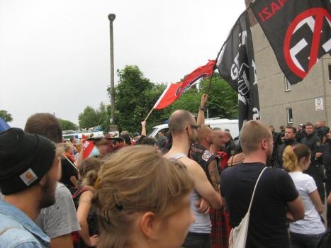 2013-08-17 Demo Antifa Leipzig nimmt Platz gegen NPD Kundgebung (9)