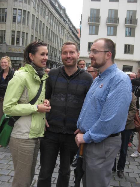 2013-09-01 Weltfriedenstag Leipzig Sandra Schenck Mike Nagler Sebastian Czich(15)
