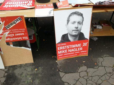 2013-09-03 Wahlkampf Leipzig Bundestag WK153 Mike Nagler (2)