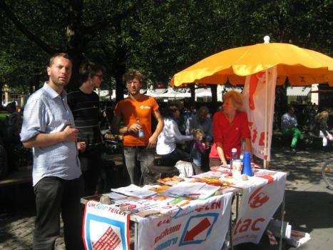 2013-09-14 Umfairteilen Aktionstag Attac LEipzig