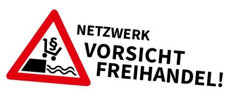 Logo Vorsicht Freihandel