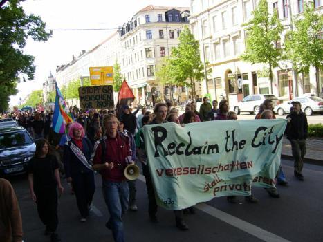 2007 Reclaim the city - Leipzig