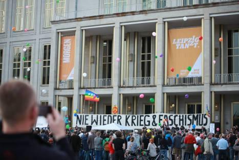 2014-04-28 Nie wieder Krieg und Faschismus - Leipzig