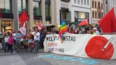 2015-09-01 Weltfriedenstag Leipzig Demonstration
