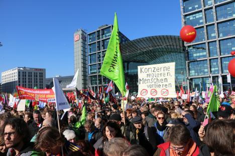 2015-10-10 Demonstration gerechter Welthandel TTIP CETA stoppen Berlin (16)