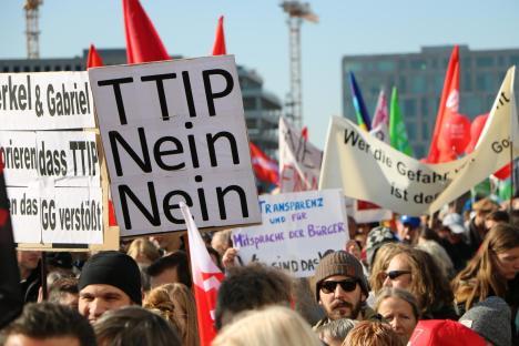 2015-10-10 Demonstration gerechter Welthandel TTIP CETA stoppen Berlin (29)
