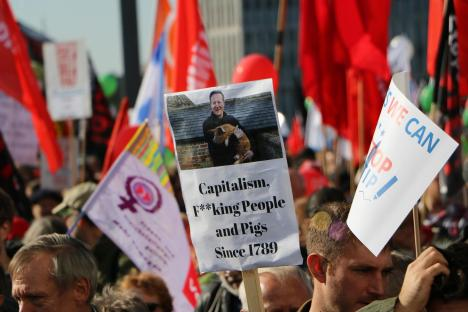 2015-10-10 Demonstration gerechter Welthandel TTIP CETA stoppen Berlin (31)
