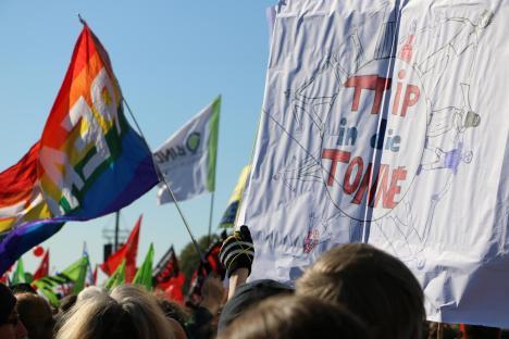 2015-10-10 Demonstration gerechter Welthandel TTIP CETA stoppen Berlin (7)