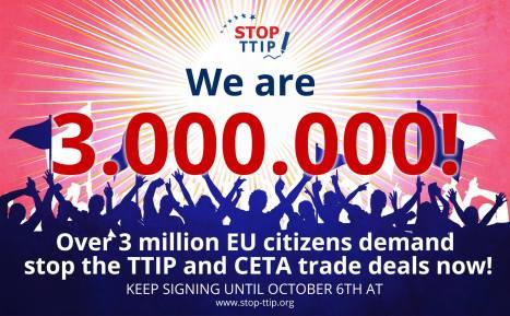 TTIP-EBI 3 Millionen