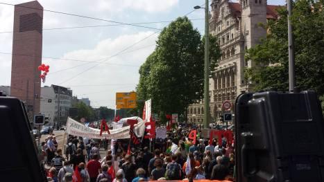 2016-05-28 Demo Leipzig TTIP Rathausr