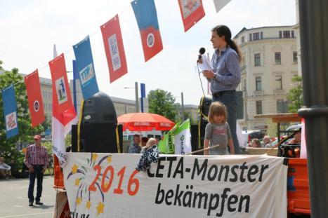 2016-05-28 Demo StopTTIPundCETA Leipzig Katholikentag (34) Gruene Juergen Kasek