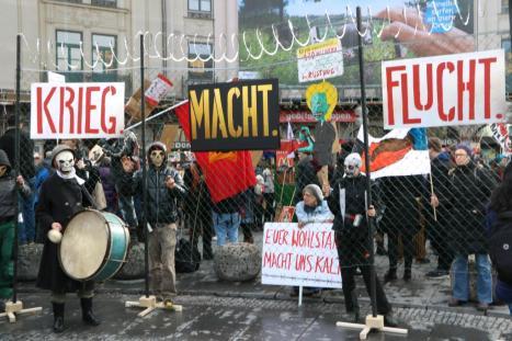 2016-02-13 Demonstration Sicherheitskonferenz Muenchen SIKO (2)