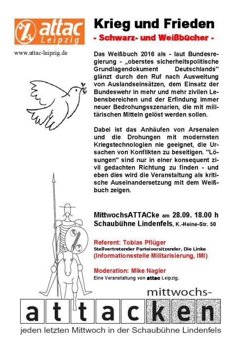2016-09-28-flyer-attac-leipzig-krieg-und-frieden-bundeswehr-schwarzbuch-tobias-pflueger-mike-nagler